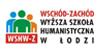 """WSH-Wyższa Szkoła Humanistyczna """"Wschód-Zachód"""" w Łodzi"""